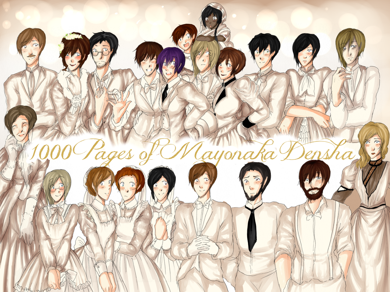 HAPPY 1000 PAGES! 8D